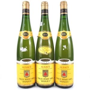 Hugel Vendange Tardive Tokay Pinot Gris 1996 Alsace 3x75cl