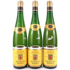 Hugel Vendange Tardive Riesling 1990 Alsace 3x75cl