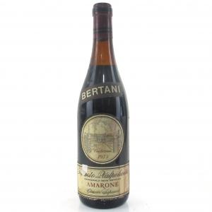 Bertani Reciotto Della Valpolicella 1973 Amarone Classico