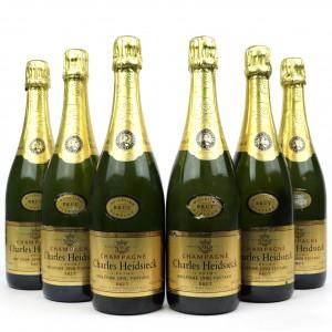 Charles Heidsieck Brut 1990 Vintage Champagne 6x75cl