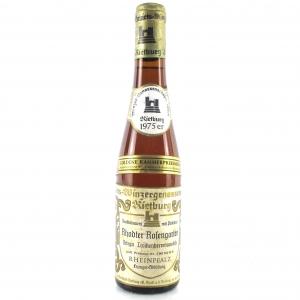 """G.Winzergenossenschaft """"Rhodter Rosengarten"""" Ortega Trockenbeerenauslese 1975 Rheinpfalz 36.7cl"""