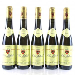 "Dom. Z.Humbrecht ""Clos Jebsal"" Pinot Gris Vendange Tardive 2005 Alsace 5x37.5cl"