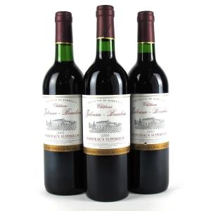 Ch. Jalousie Beaulieu 2002 Bordeaux Superieur 3x75cl
