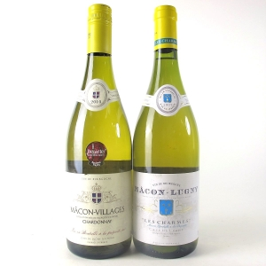 Cave De Lugny 2007 & 2010 Macon-Villages 2x75cl