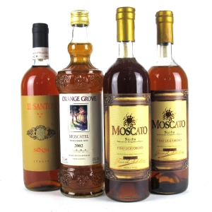 Assorted Sweet Wines 4x75cl