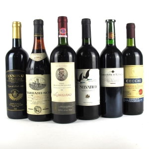 Assorted Italian Red Wines 6x75cl