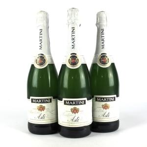 Martini Asti Dolce NV Spumante 3x75cl
