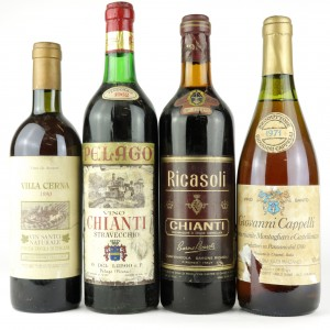 Assorted Tuscan Wines / 4 Bottles