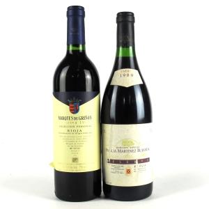 M.Bujanda & Marques De Grigñon 1989 Rioja Reserva 2x75cl