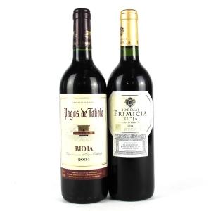 Bodegas Primicia & Pagos De Tahola 2004 Rioja 2x75cl