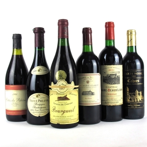 Assorted French Wines 6x75cl
