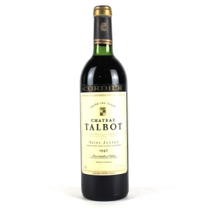 Ch. Talbot 1982 Saint-Julien 4eme-Cru