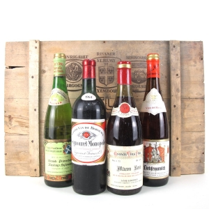 Grand Wines Of Europe Selection 4x70cl / Original Wooden Case