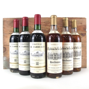 Grand Wines Of France Selection 6x75cl / Original Wooden Case