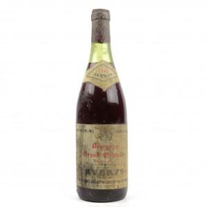 Averys Grand Ordinaire 1980 Bourgogne
