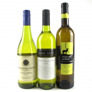 Assorted White Wines 3x75cl