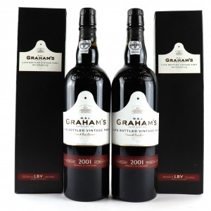Graham's 2001 LBV Port 2x75cl