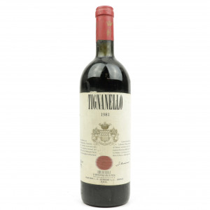 Tignanello 1981 Tuscany