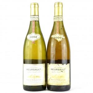 Morin 2000 & 2002 Meursault 2x75cl