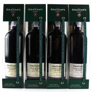 Graham's Crusted Port 4x75cl / Bottled 2003