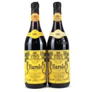 Cantina Terre Del Barolo 1981 Barolo 2x75cl