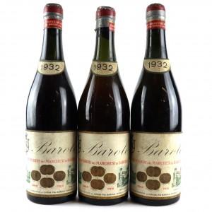 Marchesi Di Barolo 1932 Barolo / 3 Bottles