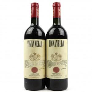 Antinori Tignanello 1987 Tuscany 2x75cl