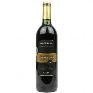 Berberana Etiqueta Negra 2004 Rioja Reserva
