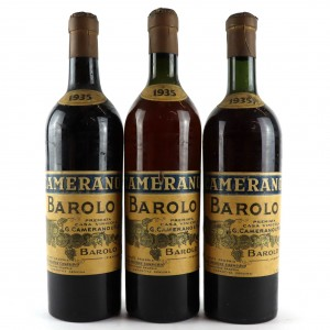 Camerano 1935 Barolo / 3 Bottles