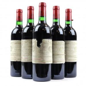 Ch. Cheval Blanc 1974 St-Emilion 1er-Grand-Cru 5x75cl