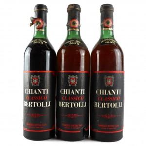 Bertolli 1958 Chianti Classico / 3 Bottles
