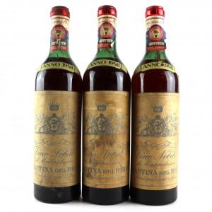 Cantina Del Redi 1958 Vino Nobile Di Montepulciano / 3 Bottles