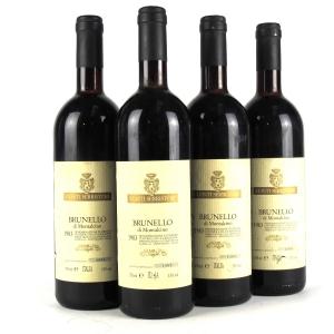 Conti Serristori 1983 Brunello di Montalcino 4x75cl