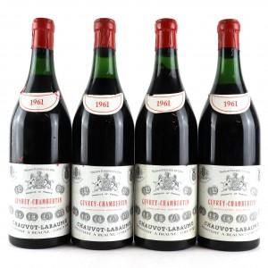 Chauvot-Labaume 1961 Gevrey-Chambertin / 4 Bottles