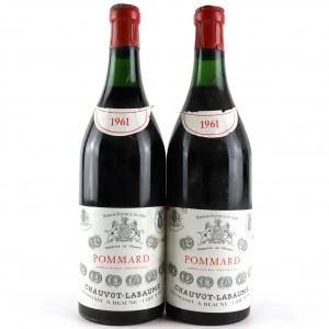 Chauvot-Labaume 1961 Pommard / 2 Bottles