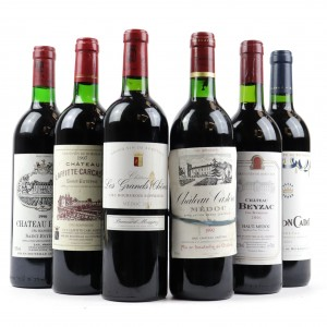 Assorted Bordeaux Red Wines 6x75cl