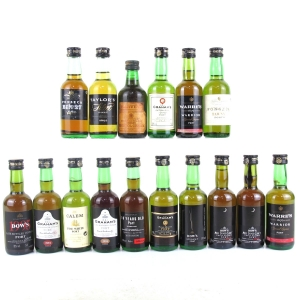 Selection of Port Miniatures 16x5cl