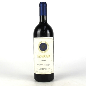 "Tenuta San Guido ""Sassicaia"" 1998 Tuscany"
