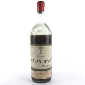 Blanchy's 1905 Sauternes