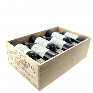 Ch. Grand Corbin 2010 St-Emilion Grand Cru 12x75cl / Original Wooden Case