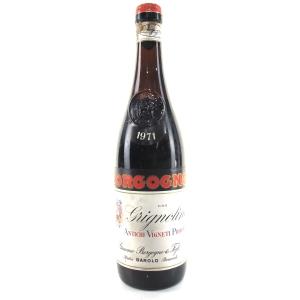 """Borgogno """"Grignolino"""" 1971 Barolo"""