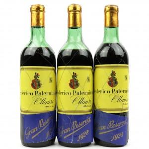 Federico Paternina 1928 Rioja Gran Reserva / 3 Bottles
