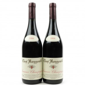 Clos Rougeard 2006 Saumur Champigny 2x75cl