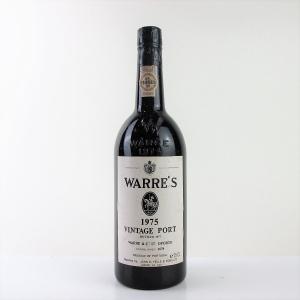 Warre's 1975 Vintage Port