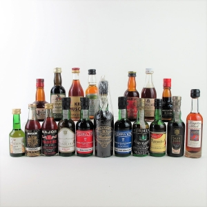 Selection of Sweet Wine & Madeira Miniatures 18x5cl
