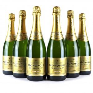 Heidsieck Monopole Gold Top Brut 2007 Vintage Champagne 6x75cl