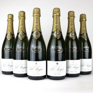 Pol Roger 1990 Vintage Champagne 6x75cl