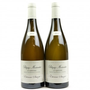 E.Sauzet Garenne 2013 Puligny-Montrachet 1er-Cru 2x75cl