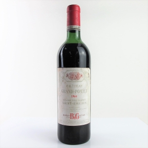 Ch. Grand-Pontet 1964 Saint-Emilion Grand Cru