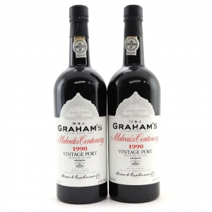 Graham's Malvedos 1990 Vintage Port 2x75cl
